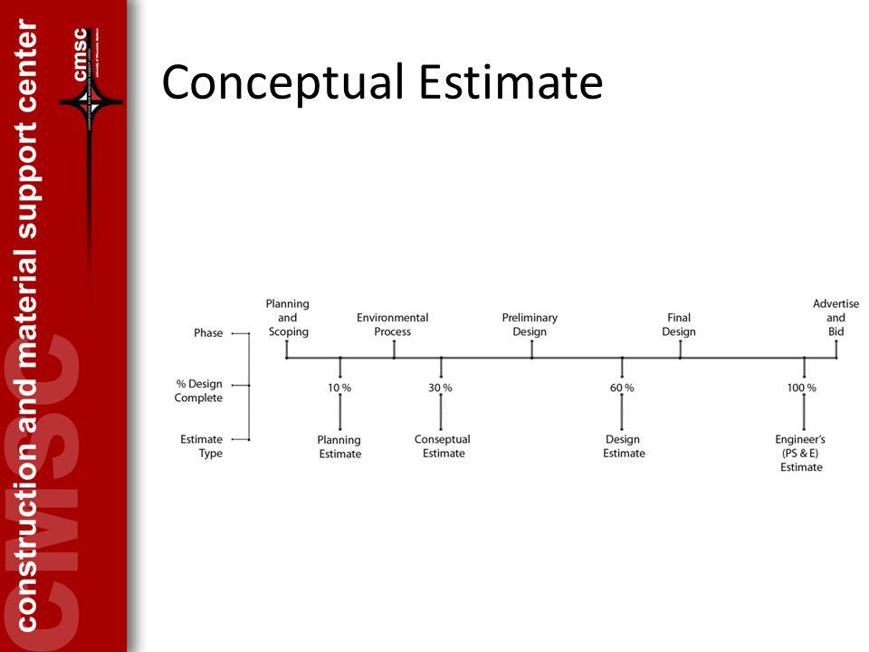 Conceptual Estimate
