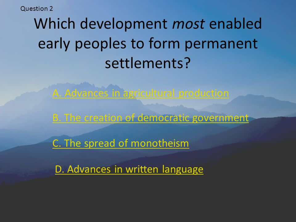 Correct-a-mundo! Next question