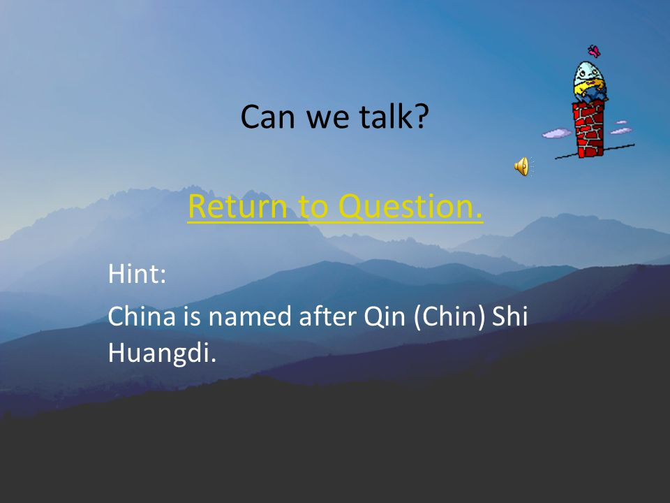 What was the main contribution of Emperor Shi Huangdi to China? A. He unified most of China under one government. D. He encouraged acceptance of the H