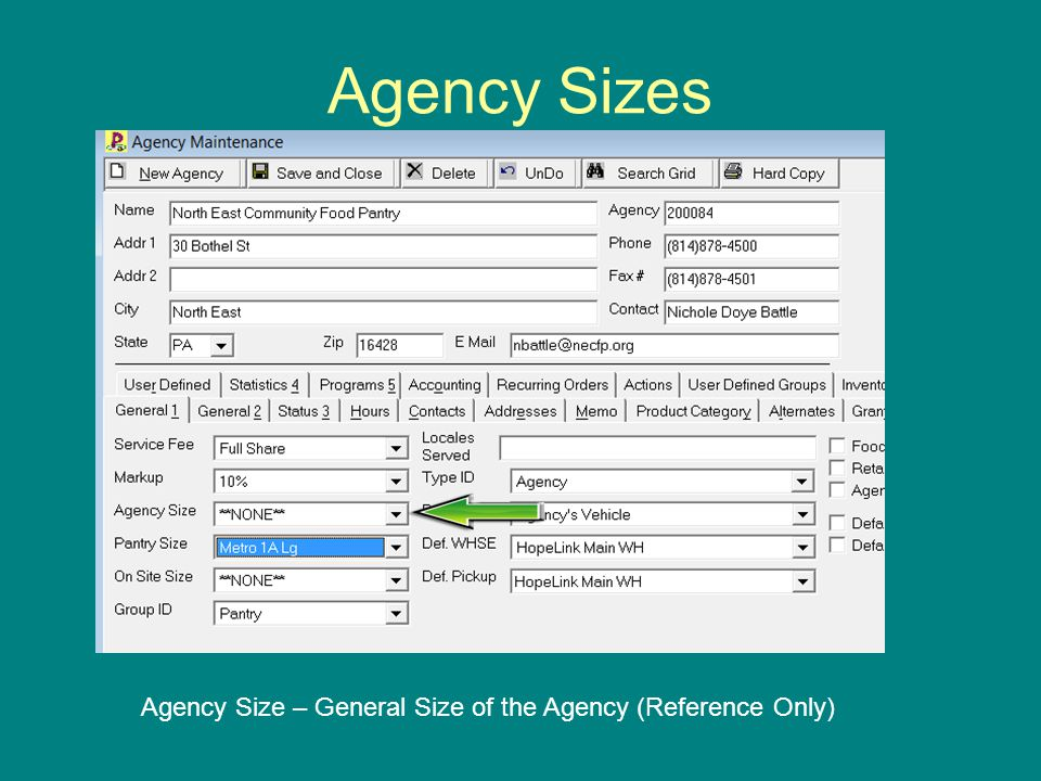Agency Status Settings Suspended: Agency is a member, but is not allowed to order product temporarily.