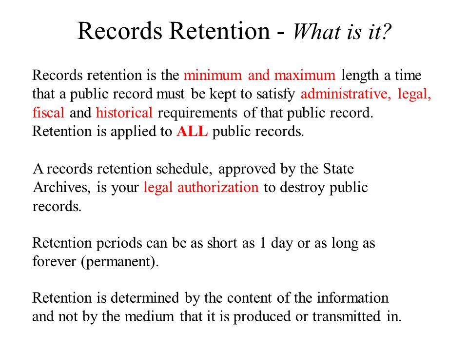 Non Public Records