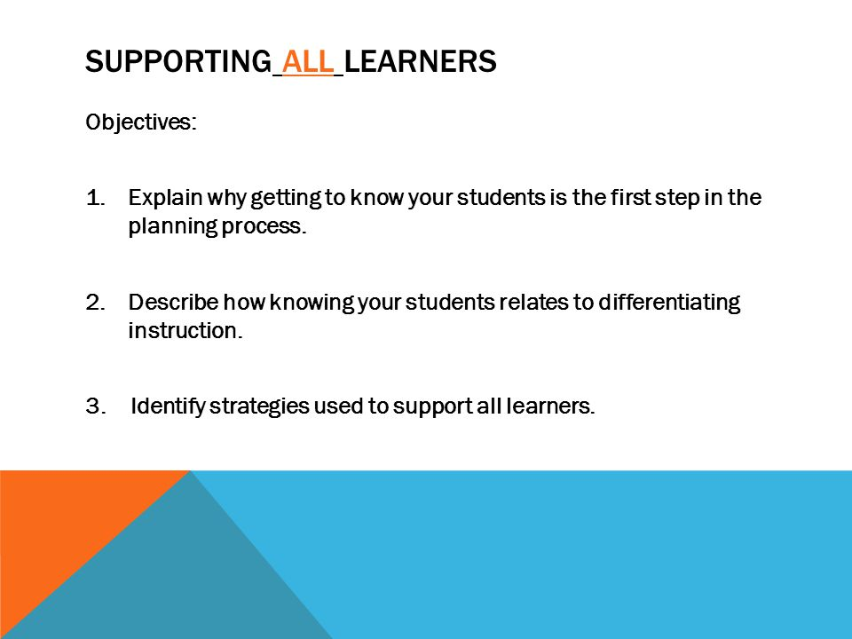 QUESTIONS TO CONSIDER 1.Can student participate in the lesson as is, what supports might be needed.