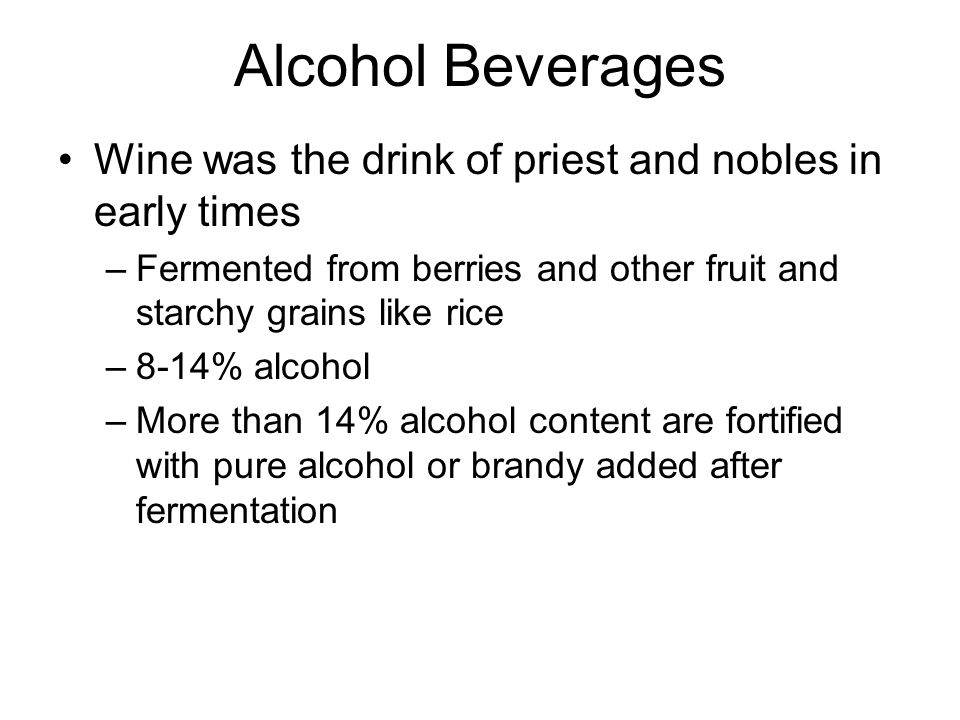 Alcohol Beverages Distilled Spirits discovered by Arabs in A.D.
