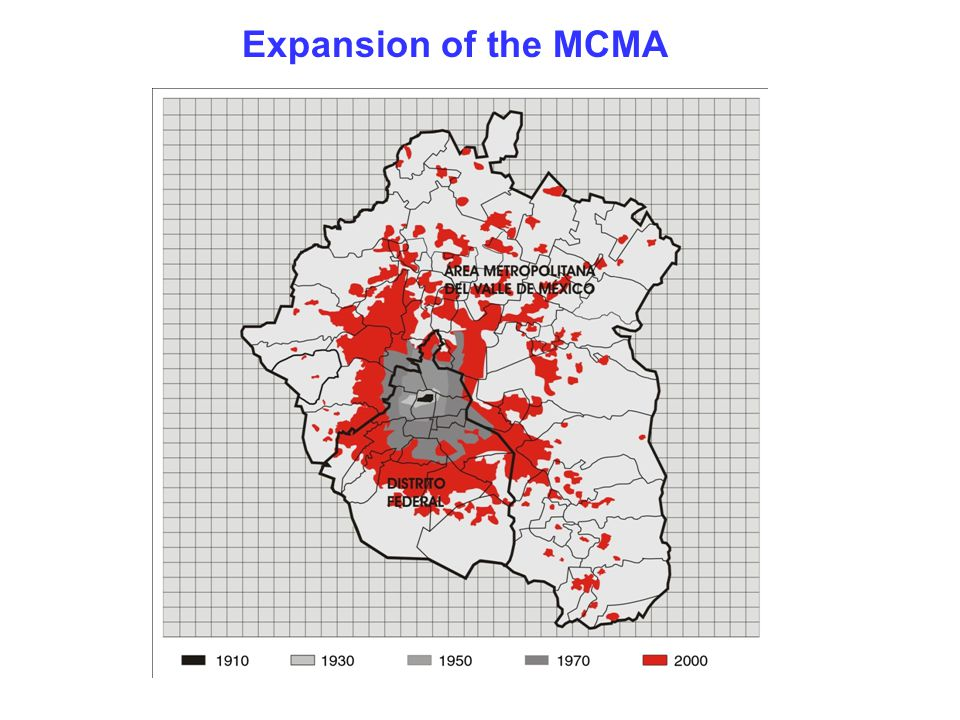 Expansion of the MCMA