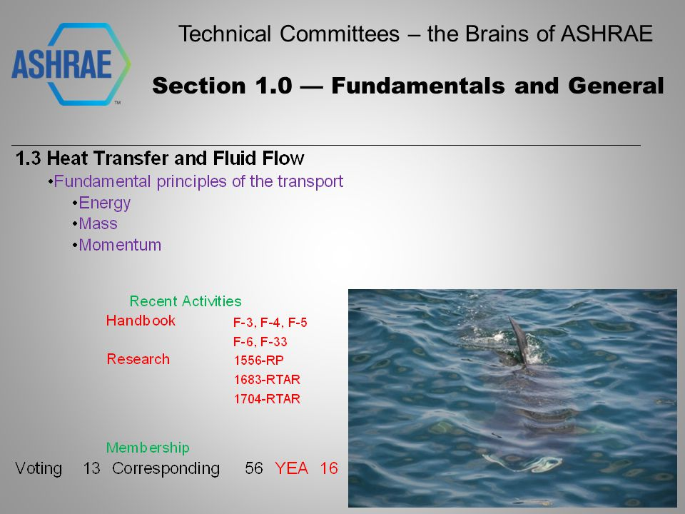 Technical Committees – the Brains of ASHRAE Section 2.0 — Environmental Quality