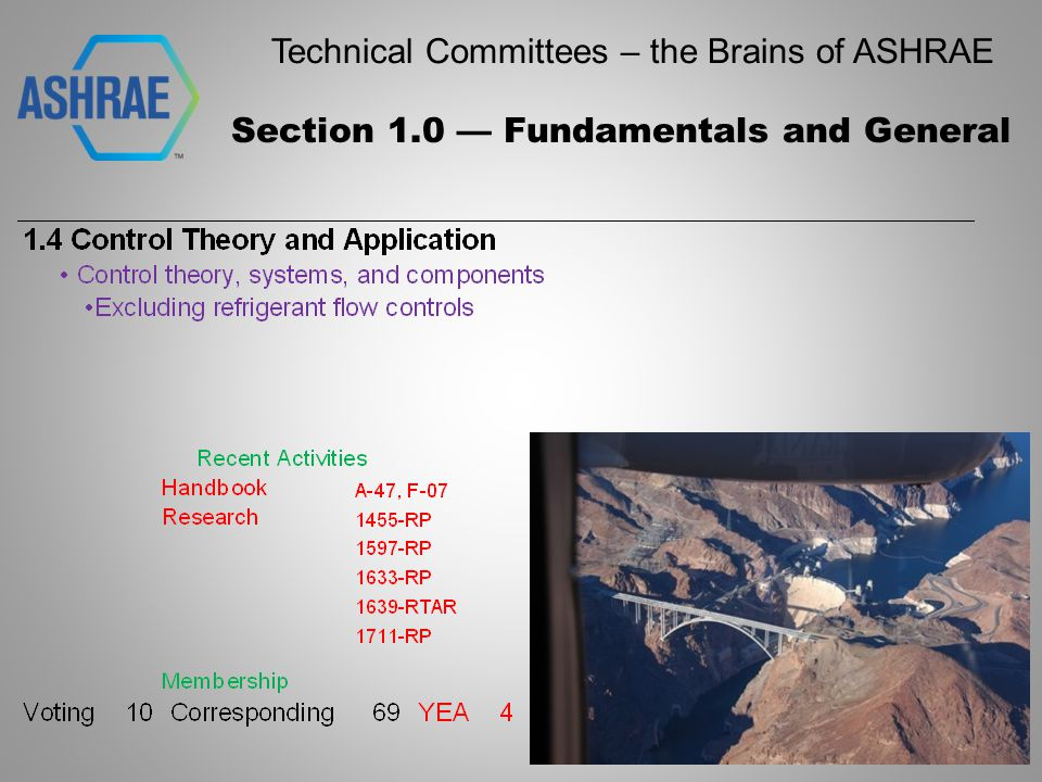 Technical Committees – the Brains of ASHRAE Section 10 - Refrigeration