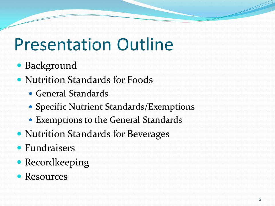 Yogurt: Sugar Exemption The proposed sugar exemption for yogurt has been removed Not necessary with the sugar by weight standard Most yogurts available meet the requirement that total sugar represent ≤35 percent of the weight of the product.
