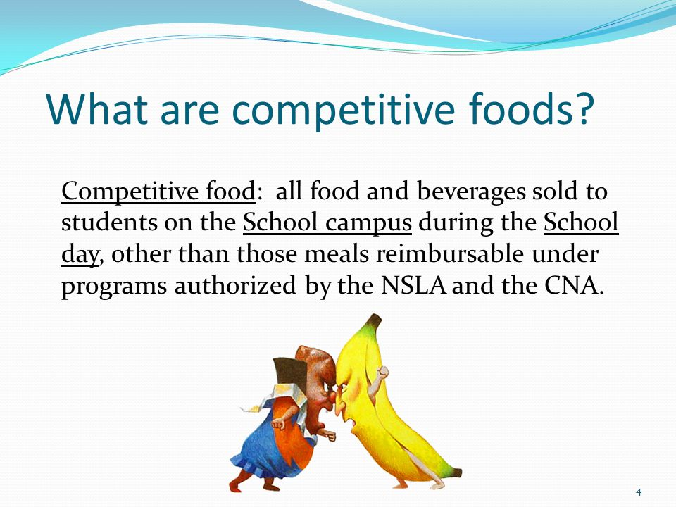 Specific Nutrient Standards for Food 15