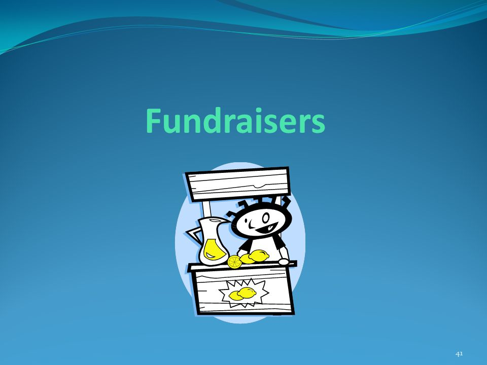 Fundraisers 41