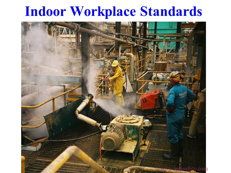 Indoor Workplace Standards