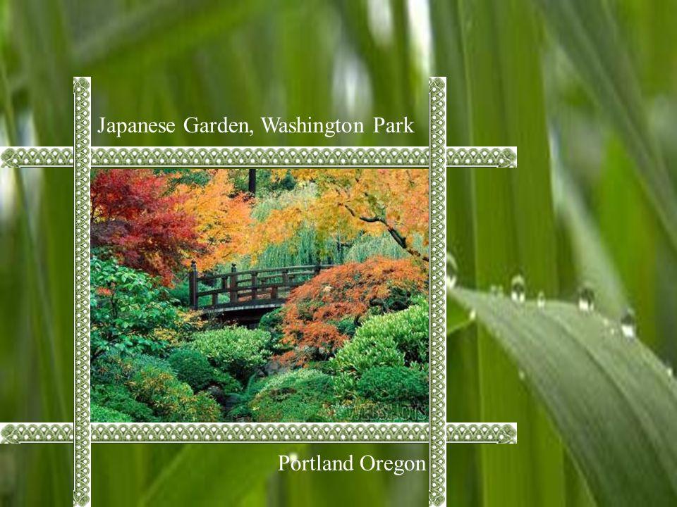Japanese Garden, Washington Park Portland Oregon