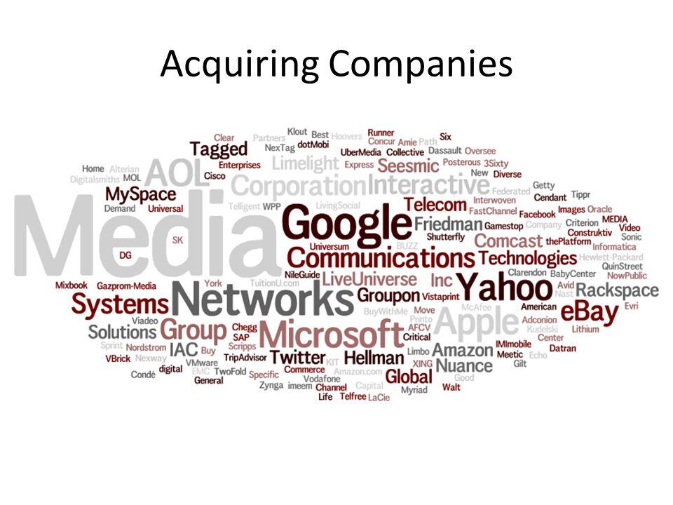 Acquiring Companies