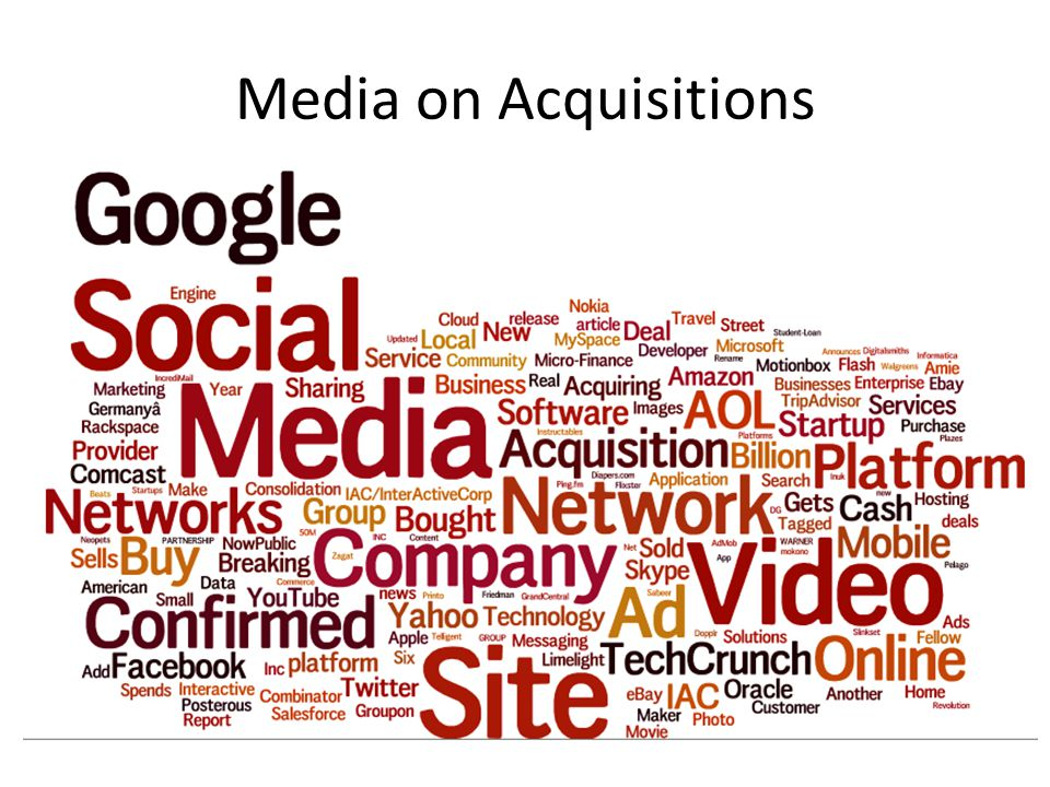Media on Acquisitions