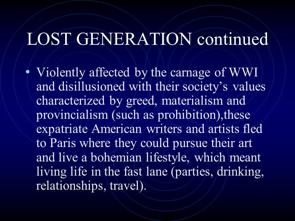 American Expatriates in Paris F.