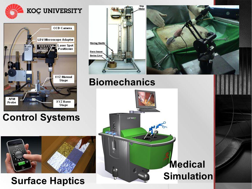 Control Systems Surface Haptics Biomechanics Medical Simulation