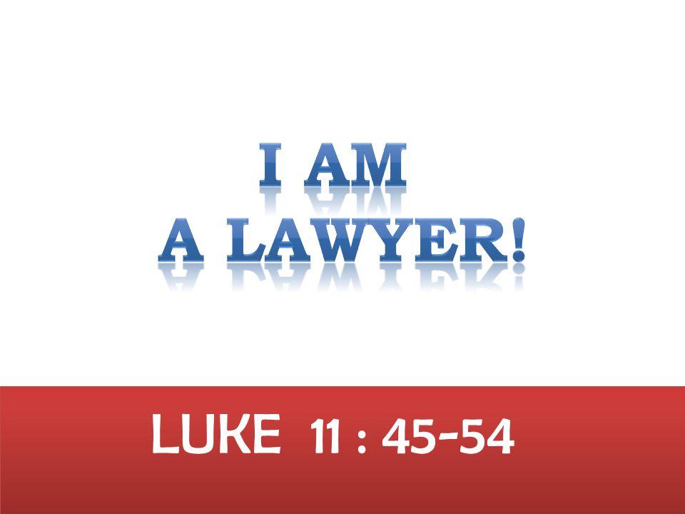 LUKE 11 : 45-54