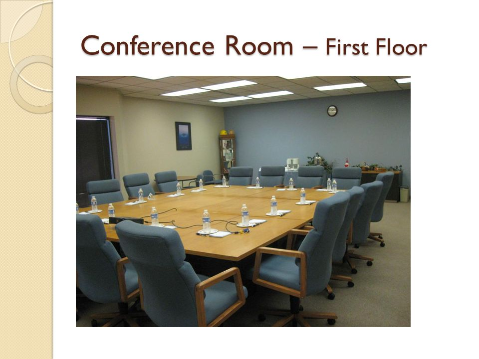 Conference Room – First Floor