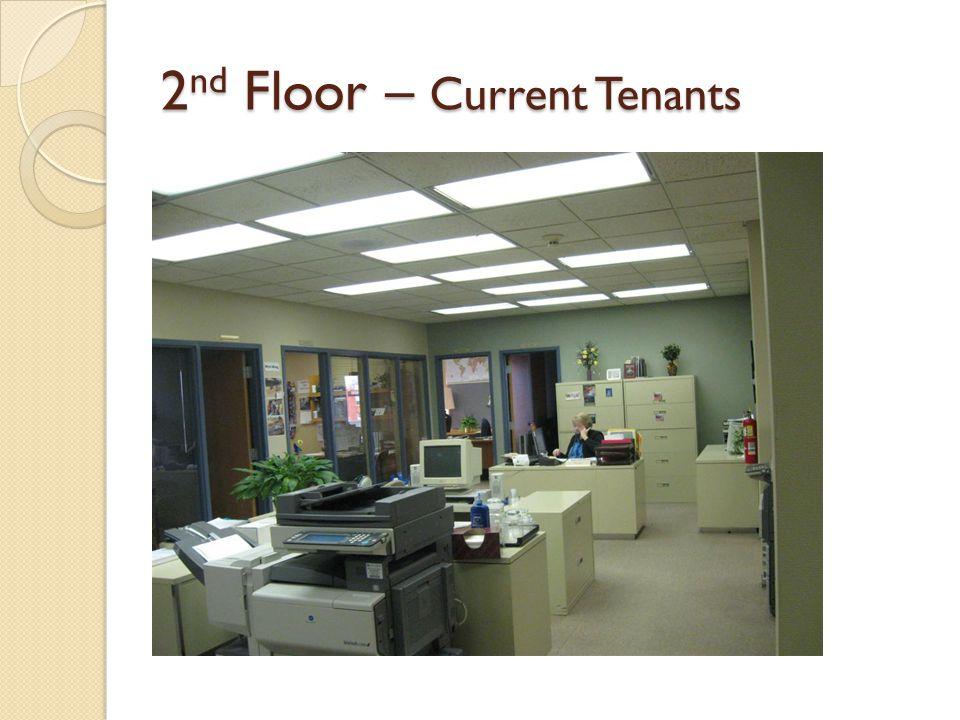 2 nd Floor – Current Tenants