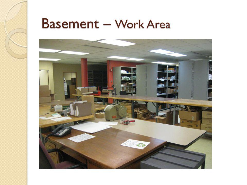 Basement – Work Area