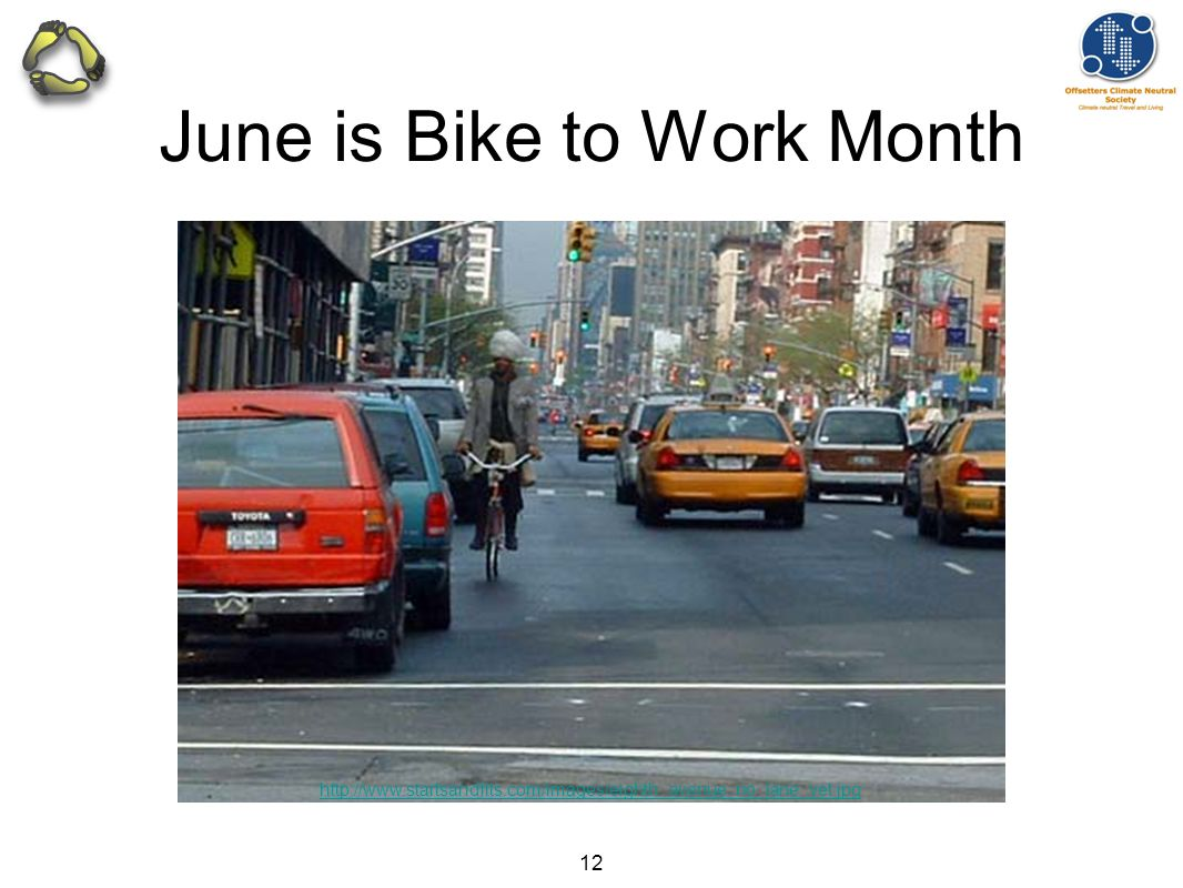 12 June is Bike to Work Month http://www.startsandfits.com/images/eighth_avenue_no_lane_yet.jpg