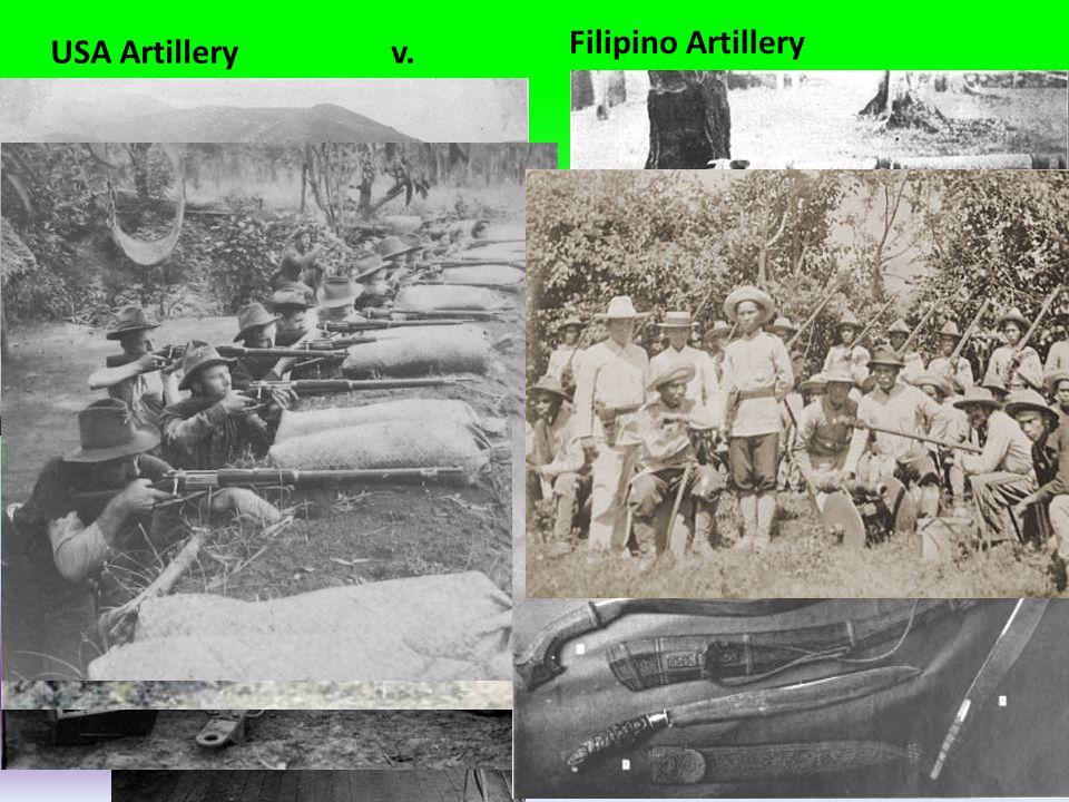 USA Artillery v. Filipino Artillery