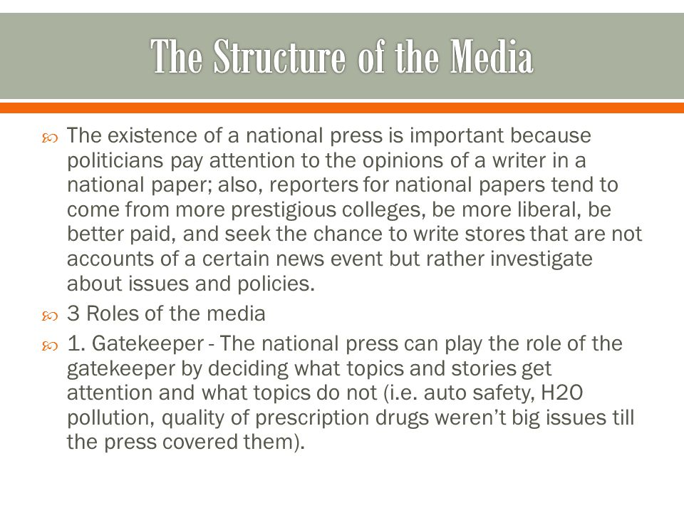  However, ever since the Vietnam War, the Watergate scandal, and the Iran-contra affair, the press has been less willing to simply accept leaks at face value and more likely to see if the stories are actually true—thus becoming an adversarial press.