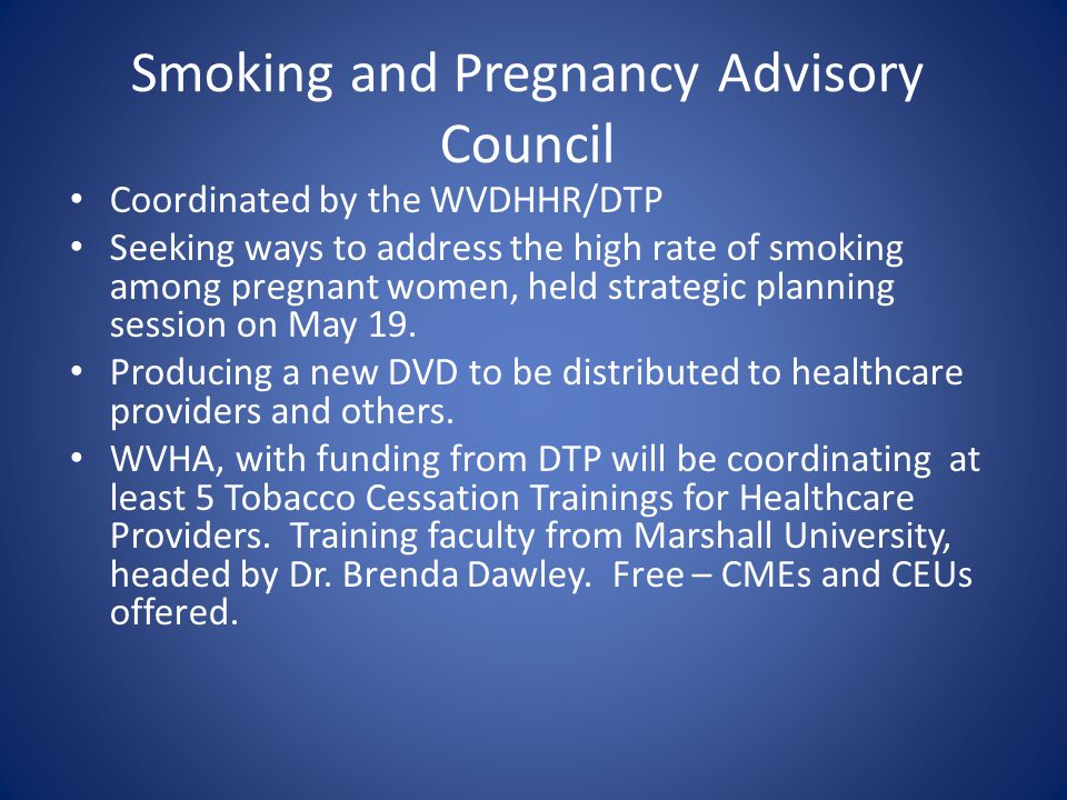 Coalition for a Tobacco-Free WV