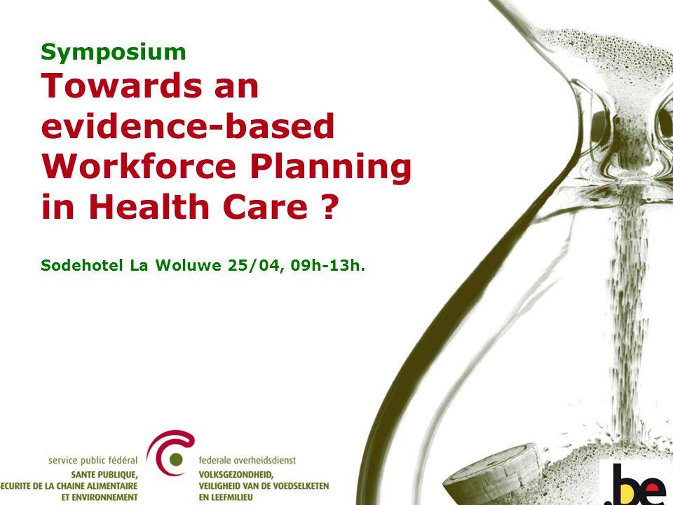 Symposium - Towards an evidence-based Workforce Planning in Health Care. Gardes dormantes par mois