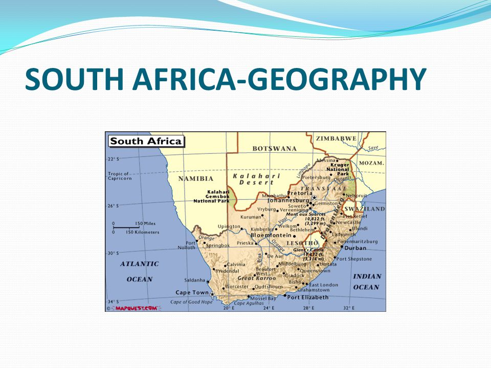 SOUTH AFRICA-GEOGRAPHY