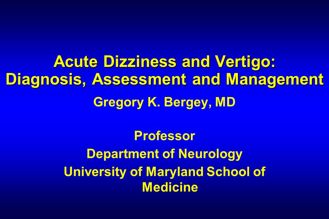 Gregory Bergey, MD Acute vertigo and dizziness are associated with what type(s) of strokes.