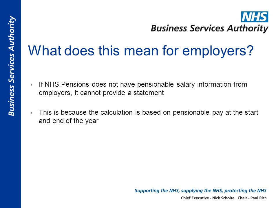 What does this mean for employers.