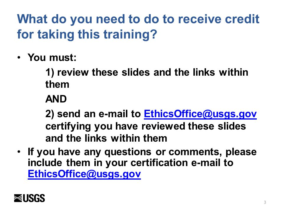 4 Topics required by regulation to be in annual ethics training Criminal conflict of interest ethics statutes, 18 U.S.C.