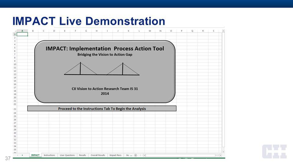 37 IMPACT Live Demonstration