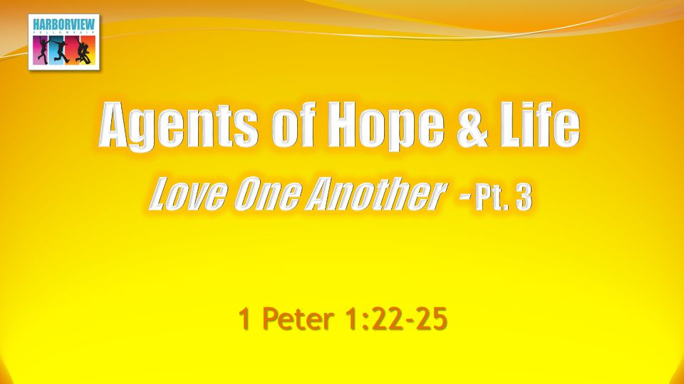 How to Love One Another Eliminate Obstacles to Love 1.