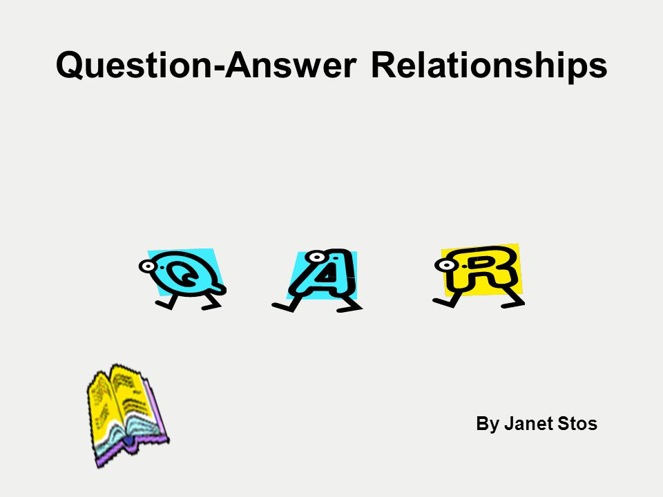 TWOQARs TWO are knowledge-based QARs Students must use their prior knowledge to answer Author and You/Me questions.