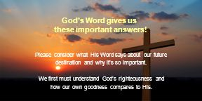 God's Word gives us these important answers.
