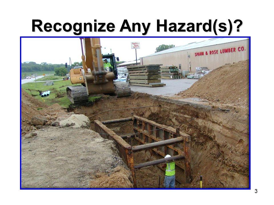 3 Recognize Any Hazard(s)?