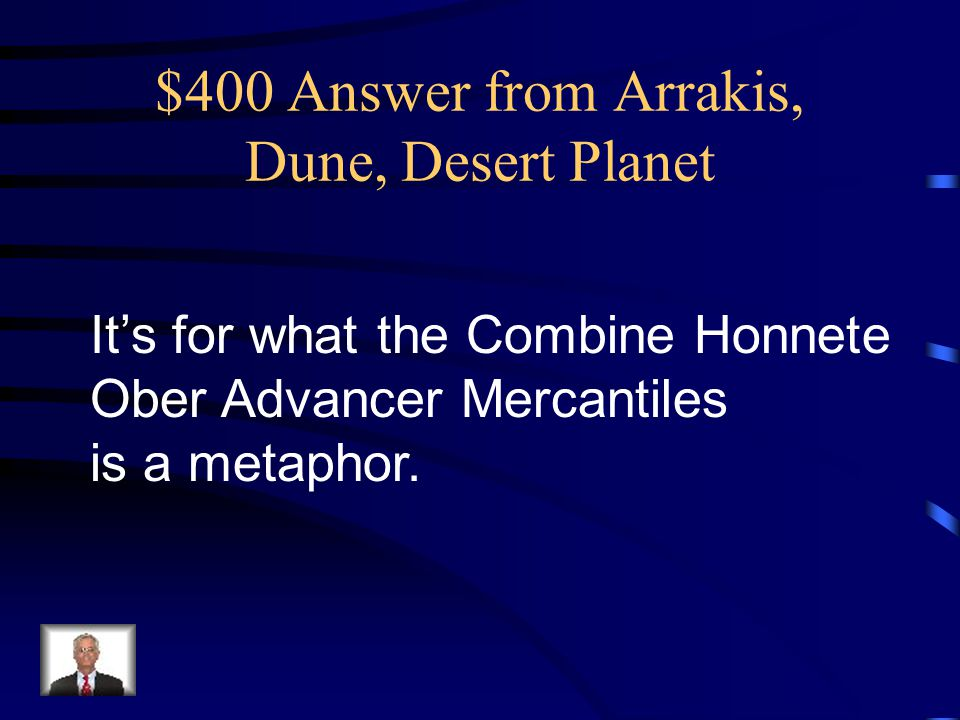$300 Question from Arrakis, Dune, Desert Planet What is one thimble-full ?