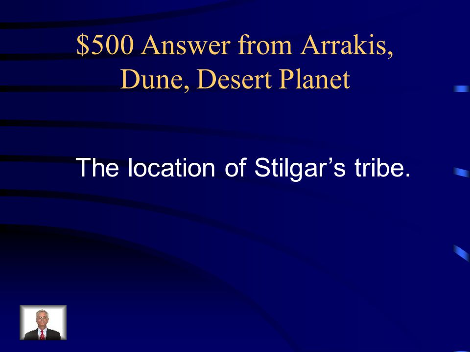 $400 Question from Arrakis, Dune, Desert Planet What is OPEC (the Organization of Petroleum Exporting Countries)?