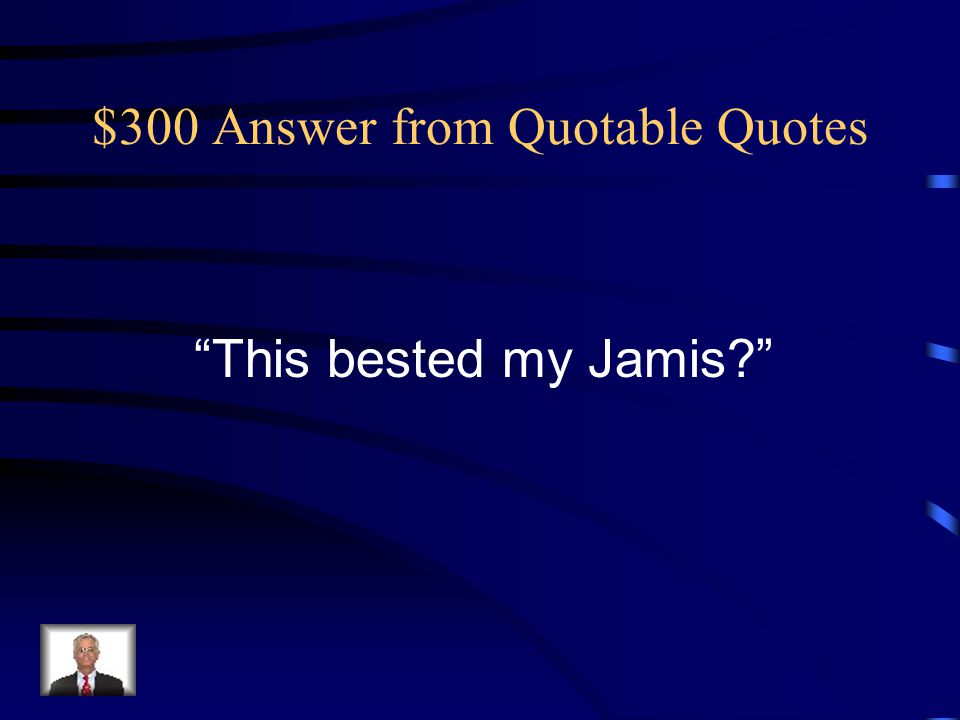 $200 Question from Quotable Quotes Who is Liet Kynes?