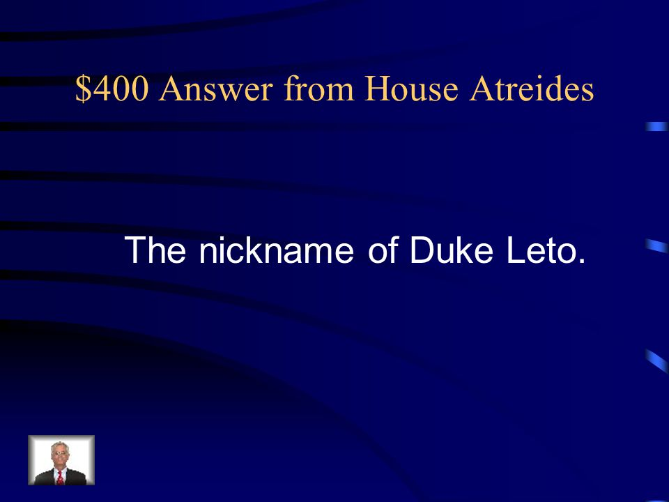 $400 Answer from Arrakis, Dune, Desert Planet It's for what the Combine Honnete Ober Advancer Mercantiles is a metaphor.