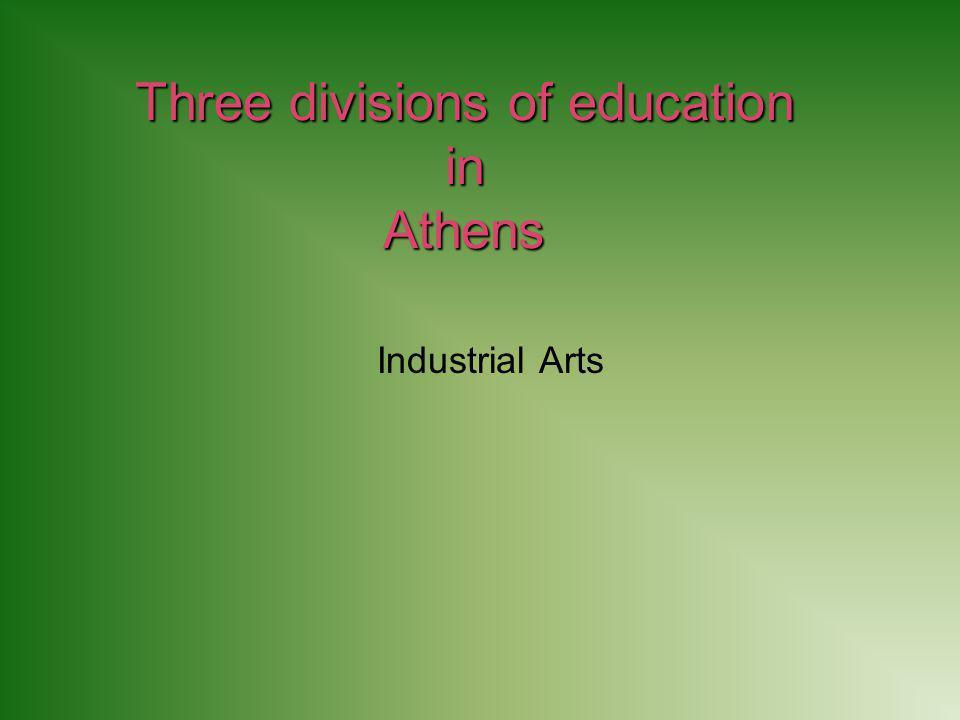 Industrial Arts