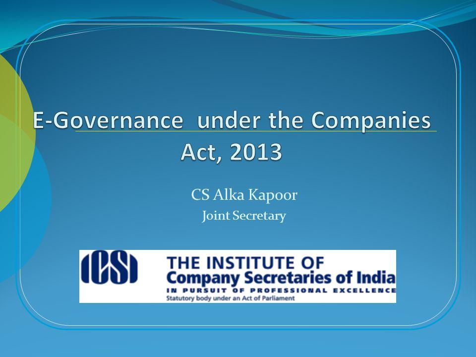 CS Alka Kapoor Joint Secretary