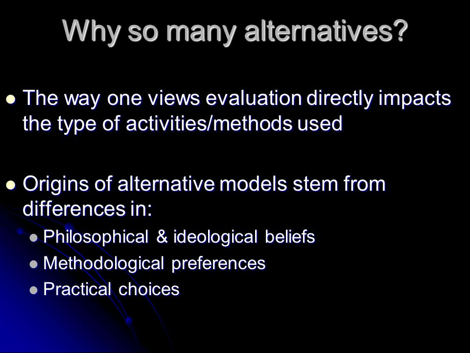 Philosophical & Ideological Beliefs Epistemologies (philosophies of knowing) Epistemologies (philosophies of knowing) Objectivism (social science base of empiricism; replicate) Objectivism (social science base of empiricism; replicate) Subjectivism (experientially-based; tacit knowledge) Subjectivism (experientially-based; tacit knowledge) Pros/Cons of each.