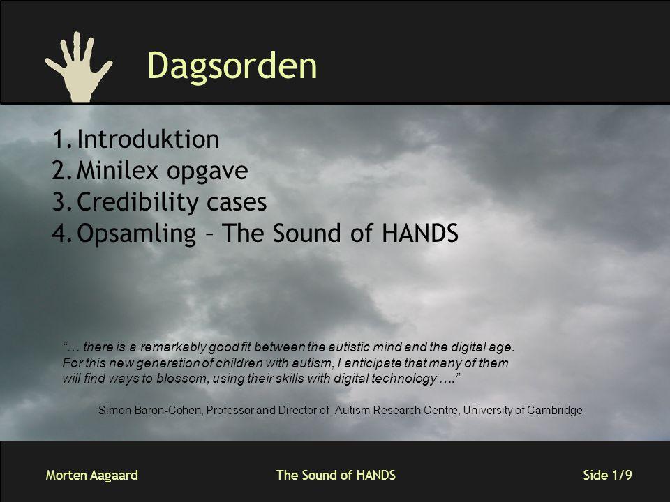 Morten AagaardThe Sound of HANDS Side 2/9 Minilex 1.