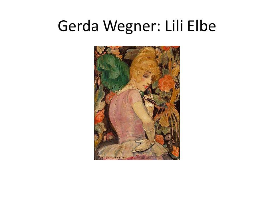 Gerda Wegner: Lili Elbe