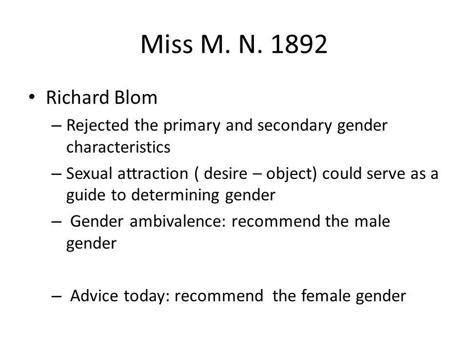 Miss M. N.