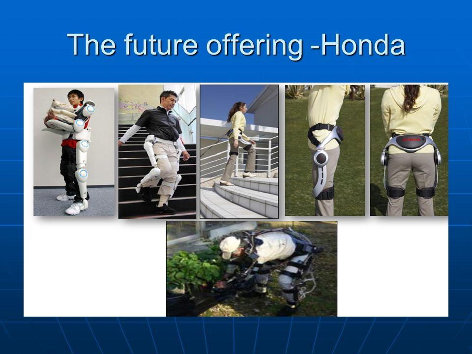 The future offering -Honda
