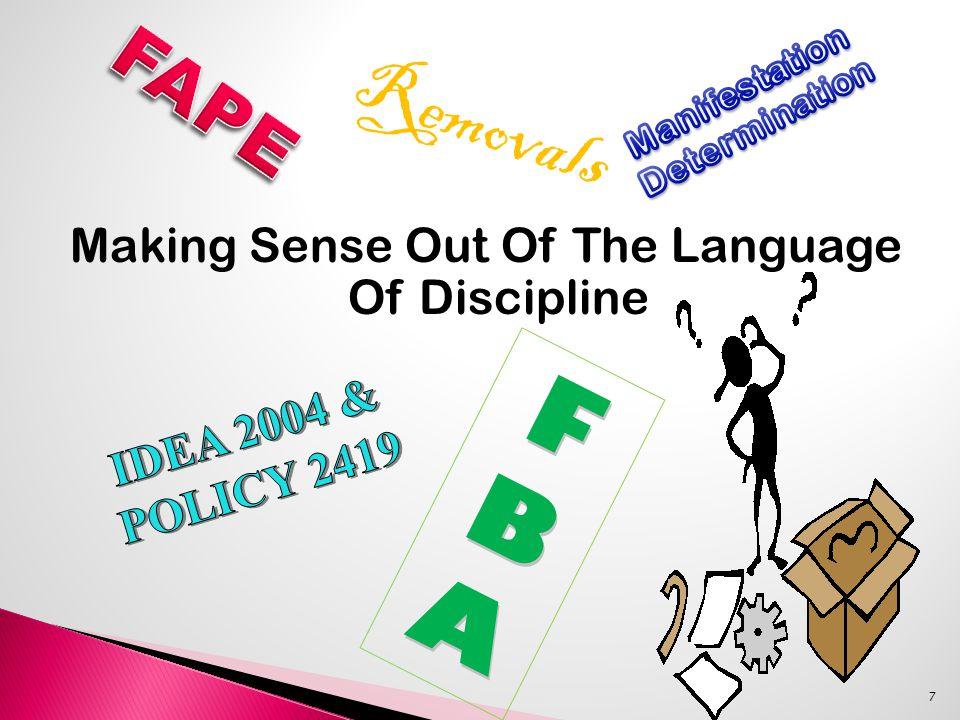 Making Sense Out Of The Language Of Discipline 7 FBAFBAFBAFBA Removals