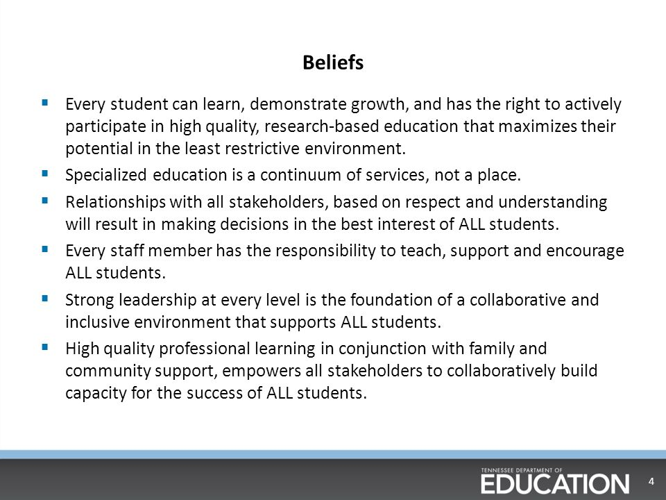 Key Goals of Special Populations 5 Improving Student Outcomes  Prevention  Intervention  Achievement  Outcomes Manage Performance  Effective employees at every level of the organization with a focus on improving student outcomes.